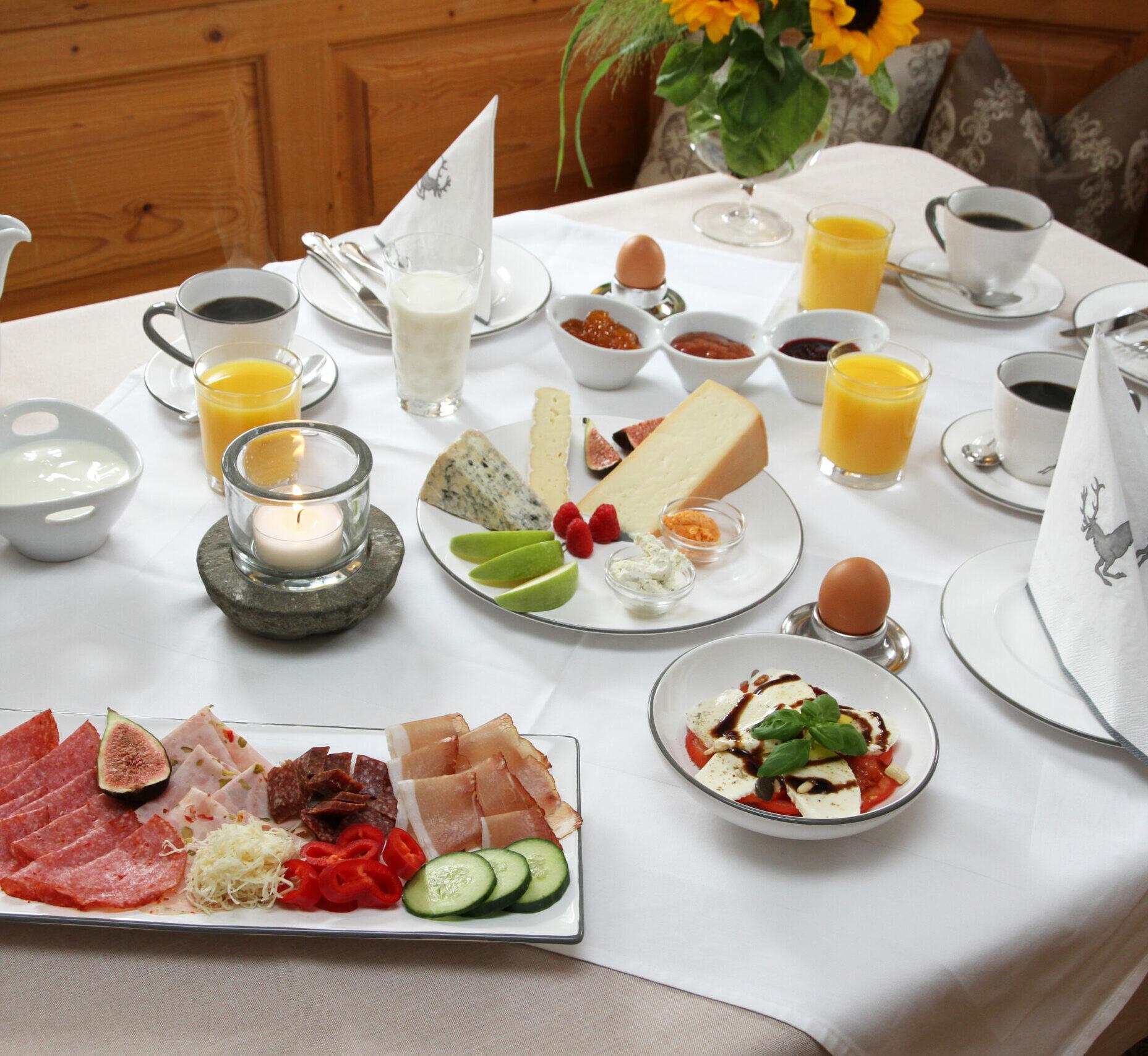 Frühstück Unterleitenhof
